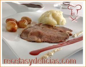 receta filete rosbif a la inglesa