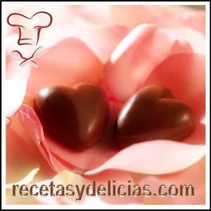 chocolates corazon san valentin