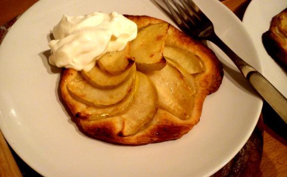 receta de tartitas de manzana