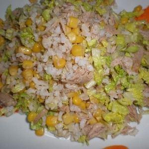 dca6745fdbb9da5b038270324f6ced2f - ▷ Ensalada de arroz 🥗 🍚