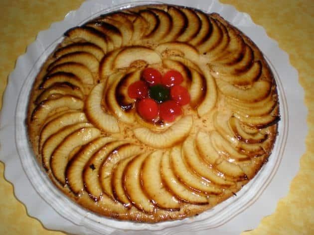 ▷ Tarta de manzana 🥧 🍏