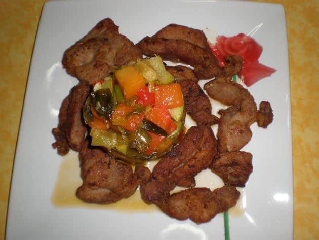 f59fd3a46f2adbbd9dd6269010353971 - ▷ Chuletas de pavo fritas con salteado de verduras y papaya 🦃 🥕 🥒
