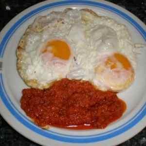 bad5624cc86e63e5d60645e4f808fc7a - ▷ Huevos fritos con sobrasada Ibérica 🍳