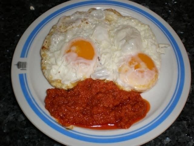 ▷ Huevos fritos con sobrasada Ibérica 🍳