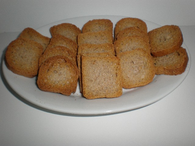 Mini tostadas integrales