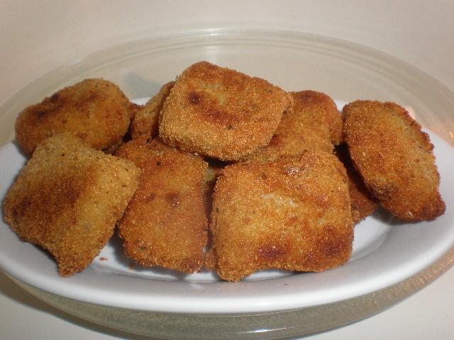 Croquetas de burrito hervido