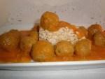 ▷ Albondiguitas de pollo en salsa 🐓 🍅
