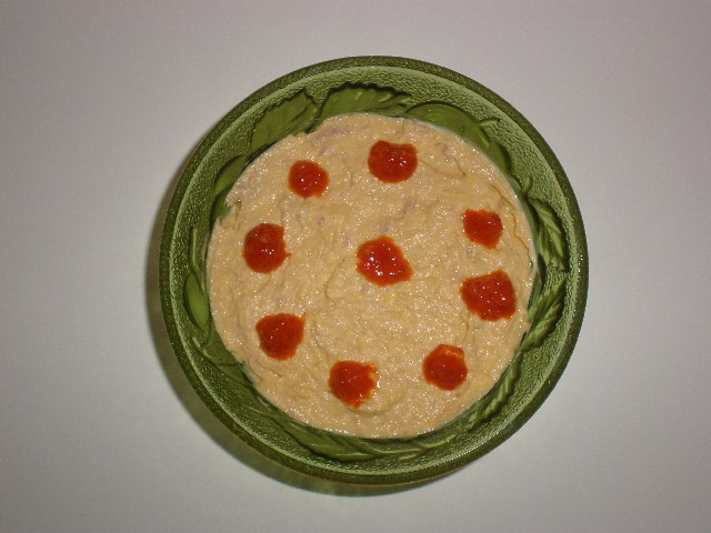 Pasta de yema y atún