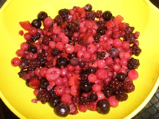 Frutillas del bosque