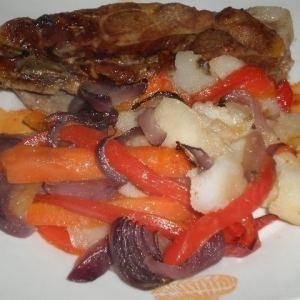 805338ee0c44c245d337ce49024f6eab - ▷ Chuletas y verdura al horno 🐖 🥕