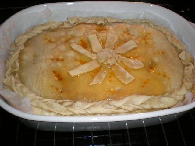 Hornear empanada boloñesa