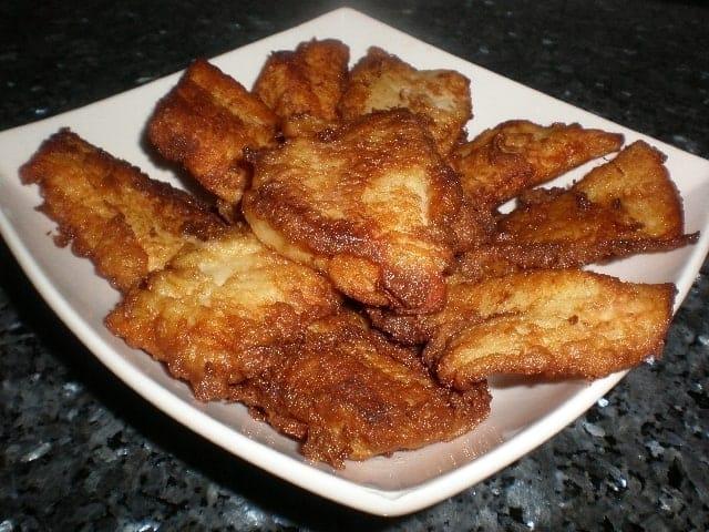 Filetes de gallo rebozados