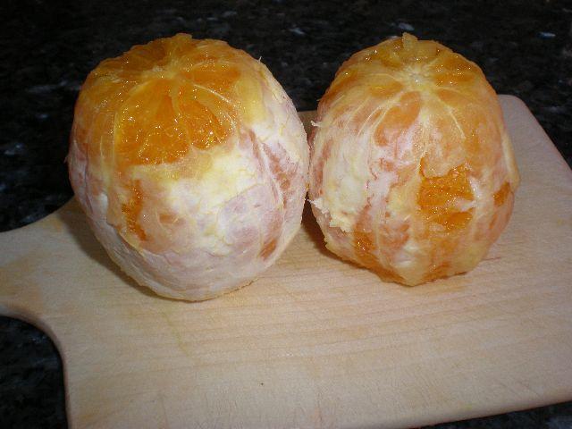 Naranjas peladas