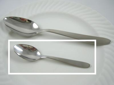 Photo : équivalence cuillère à thé, cuillère à café