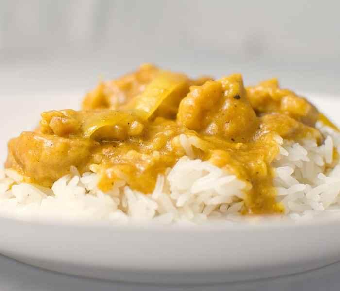 Recette facile de poulet au curry