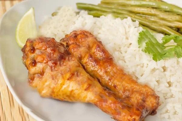 pilons de poulet au riz cookeo recette pilons de poulet cookeo