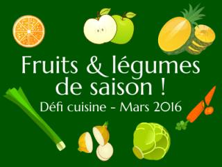 Défi Fruits et légumes de saison