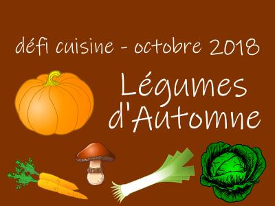 Défi Cuisine : Légumes d'Automne