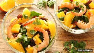 recette salade de crevettes