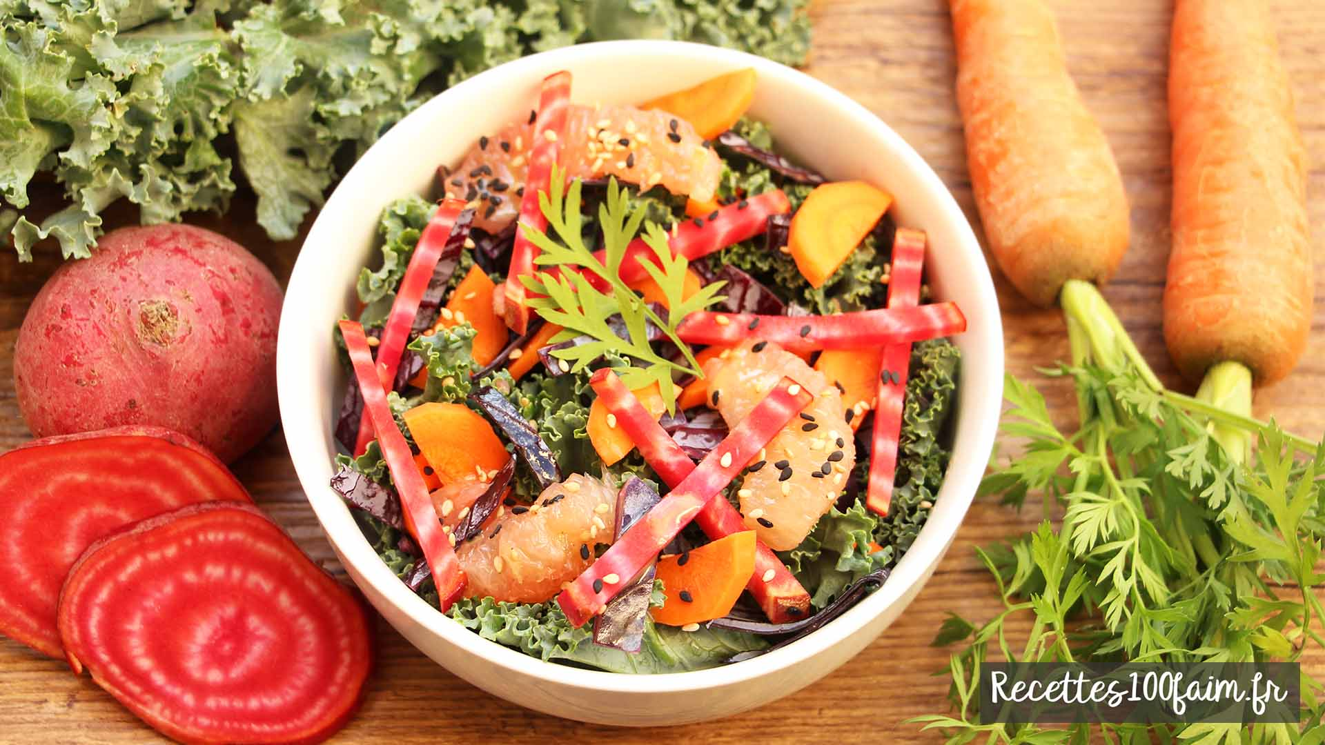 recette kerbio kale betterave orange carotte
