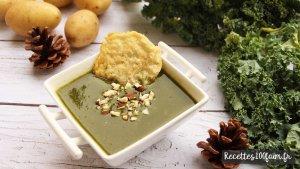 soupe kale patate parmesan