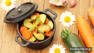 poelee carotte courgette