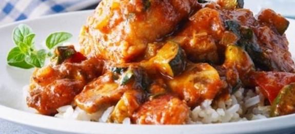 poulet aux legumes d ete