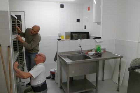 aménagement laboratoire de pâtisserie