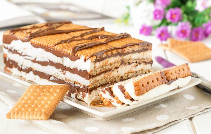 biscuits au mascarpone et Nutella sans cuisson