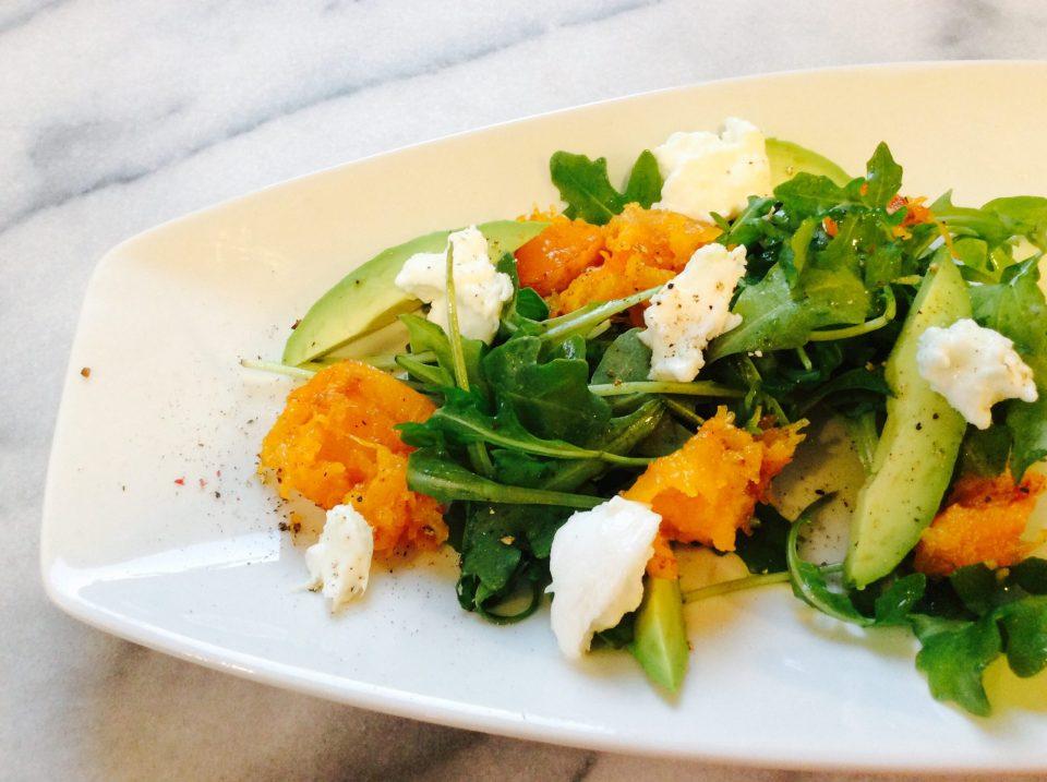 Salade courge butternut