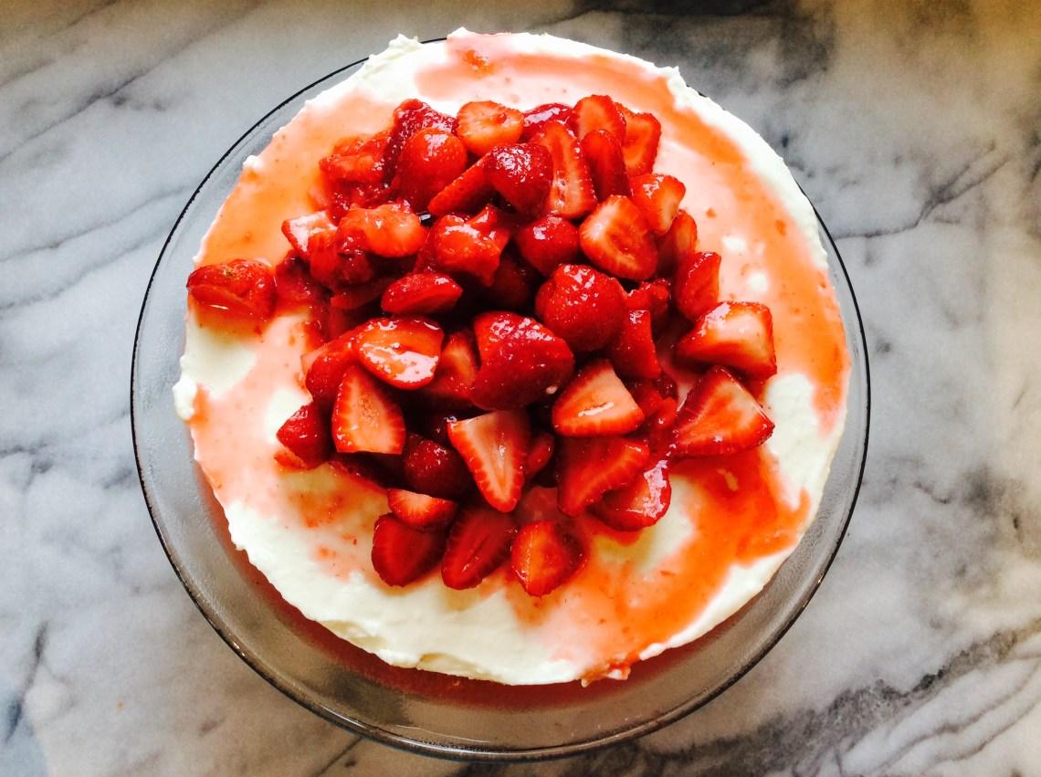 #recette #recipe #rettegateau #recettefraise #recipecake #recttegateaufromage #gateaufromage