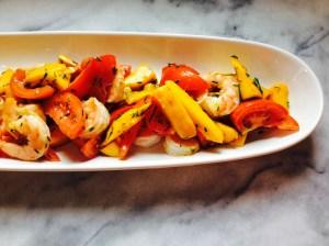 #recettesalade #recettesante #recettecrevette #recettebuffet