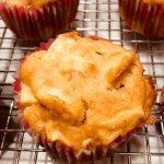 Muffins aux pommes et miel