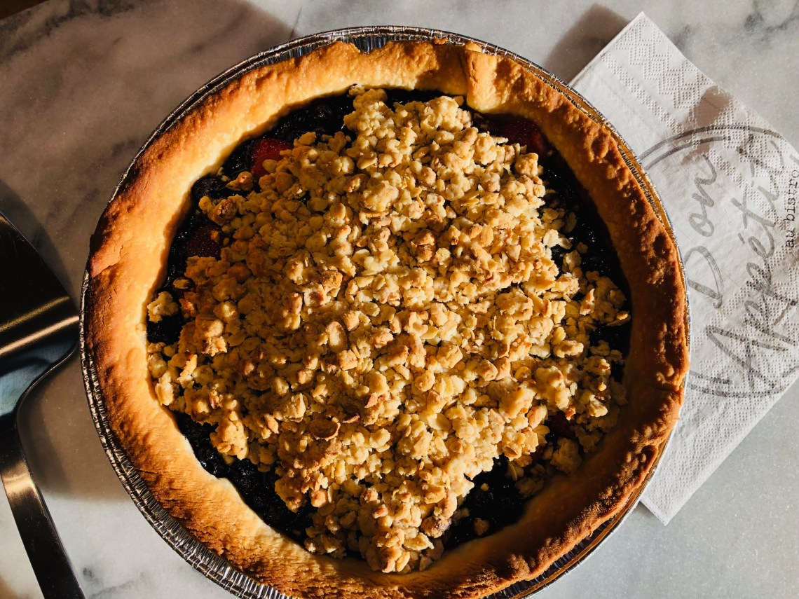 #recettesfamille #recettesansnoix #recettesansarachide #recettetarte #recettetartebleuets #recettetartebleuet #recettebleuets #tartebleuetscrumble #tartebleuet