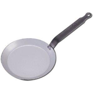 Poêle à crêpe en fer blanc