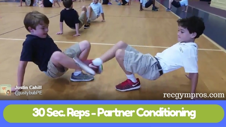 30 Second Reps - Partner Conditioning Ideas