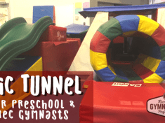 Epic Tunnel for preschool and rec gymnasts || www.recgympros.com || @recgympros || #recgympros