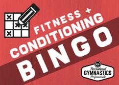 Free Conditioning Bingo || Recreational Gymnastics Professionals || @recgympros
