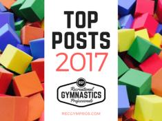 Top 10 Posts on Recreational Gymnastics Professionals for 2017 || recgympros.com || @recgympros