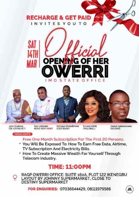 Owerri Office Openning Event