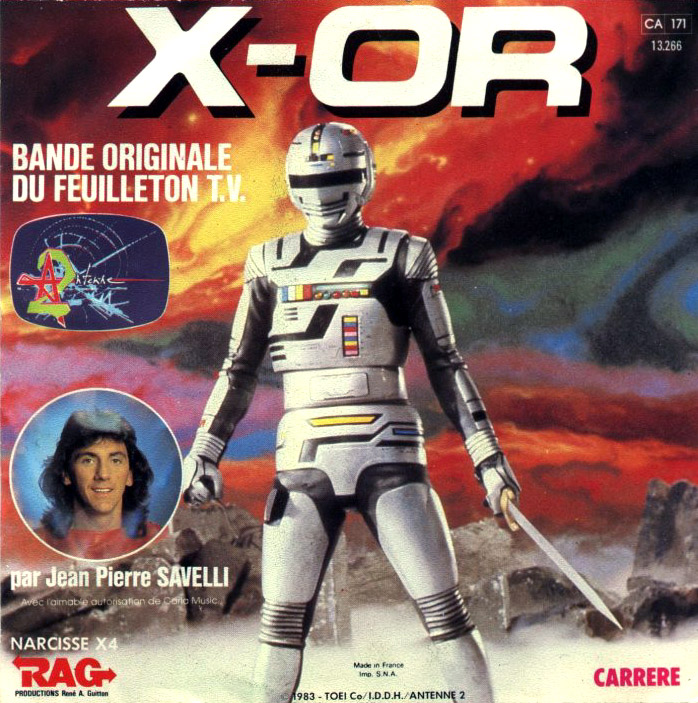 pochette xor X-or eu'l shérif d'eul'espace