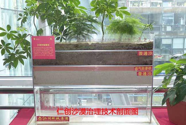 Breathable anti-seepage sand