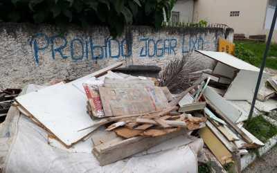 Morador de Balneário Camboriú terá como descartar entulho sem gastar nada