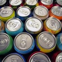 Faça você mesmo Arranjos de Festa com Reciclagem de Latas de Alumínio