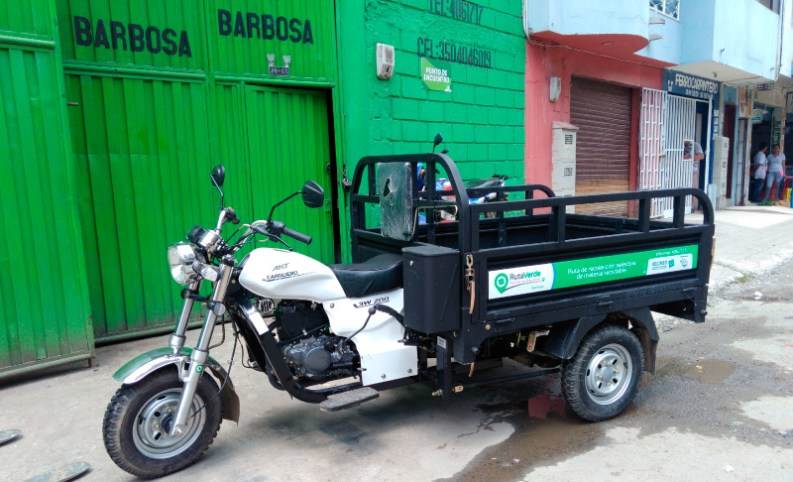 Ruta Verde Barbosa, motocarro, recimed