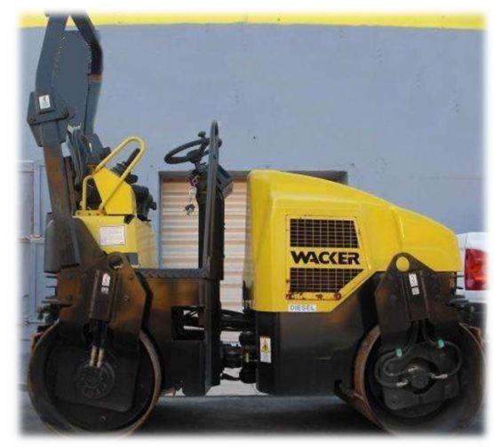 Compactador Waker 3000 Kg
