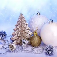 Imagens de árvores de Natal.