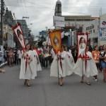 Cooperadores dos Arautos do Evangelho na Procissão de Nossa Senhora dos Prazeres - Maceió - AL
