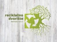 zid s logom reciklažnog dvorišta