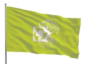 zastava reciklažnog dvorišta